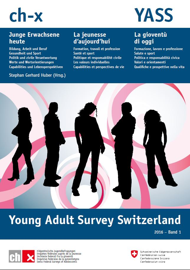 ch-x - Young Adult Survey Switzerland. 2016, Band1